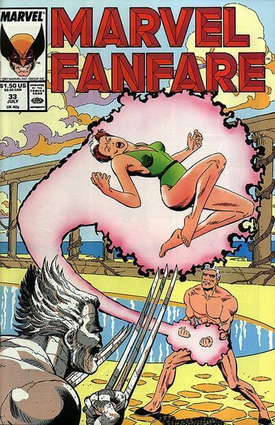 Marvel Fanfare Vol 1 #33