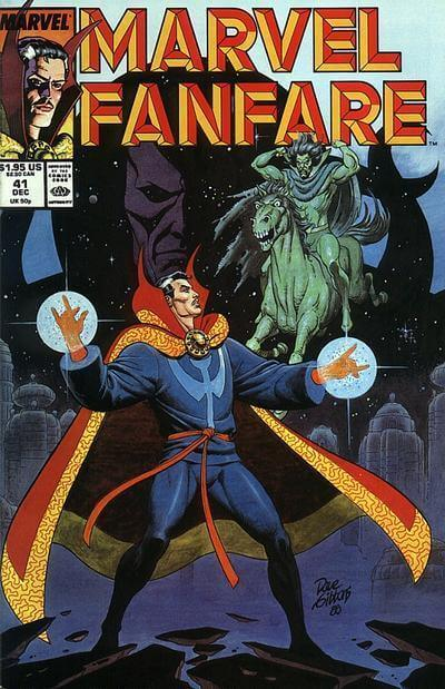 Marvel Fanfare Vol 1 #41
