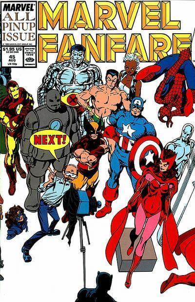 Marvel Fanfare Vol 1 #45