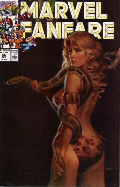 Marvel Fanfare Vol 1 #56