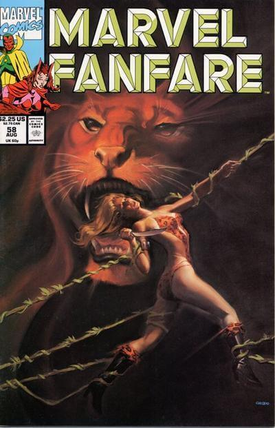 Marvel Fanfare Vol 1 #58