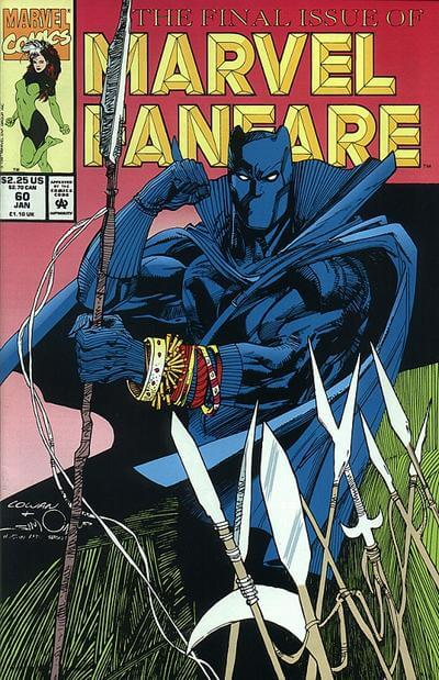 Marvel Fanfare Vol 1 #60