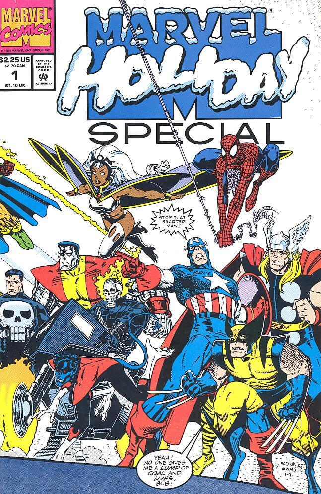 Marvel Holiday Special 1991