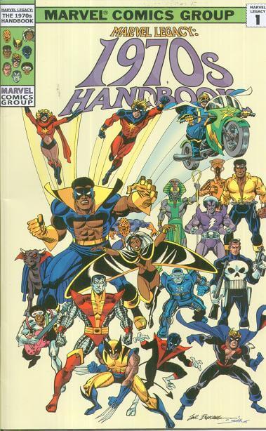 Marvel Legacy 1970s Handbook #1
