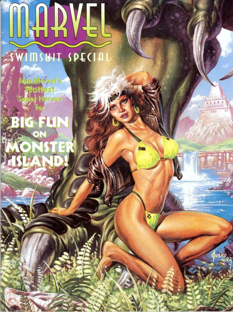 Marvel Swimsuit Special 1993