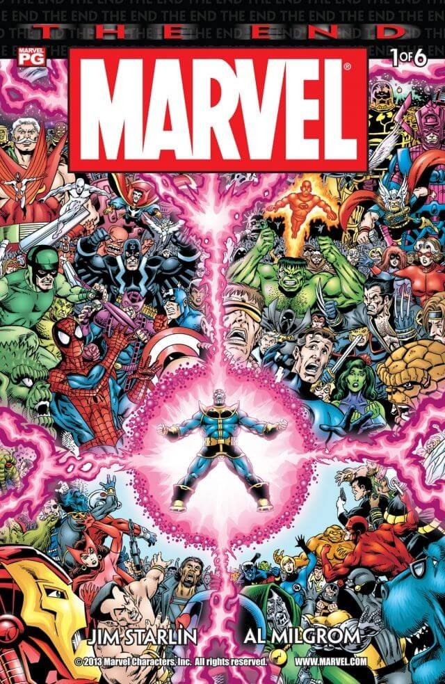 Marvel Universe The End Vol 1 #1