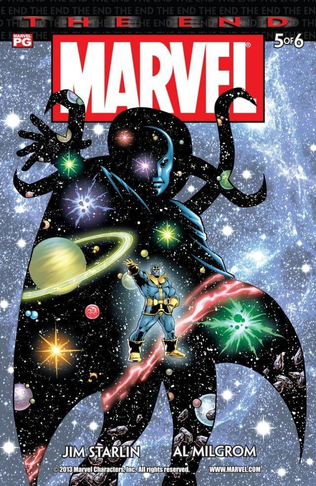 Marvel Universe The End Vol 1 #5