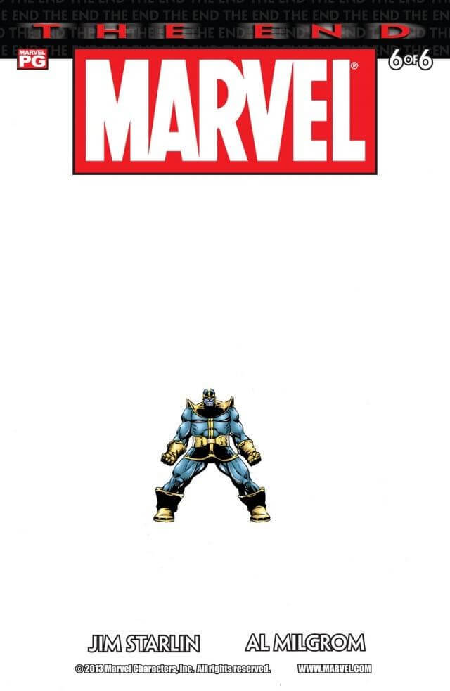 Marvel Universe The End Vol 1 #6