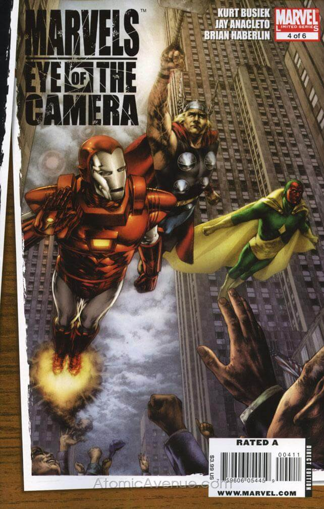 Marvels: Eye of the Camera Vol 1 #4