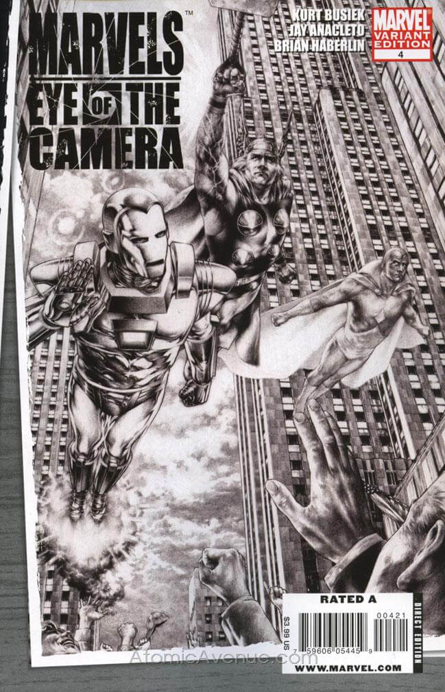Marvels: Eye of the Camera Vol 1 #4 b