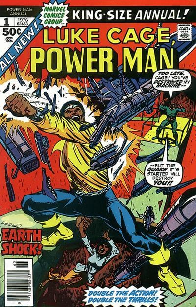 Power Man Vol 1 Annual #1