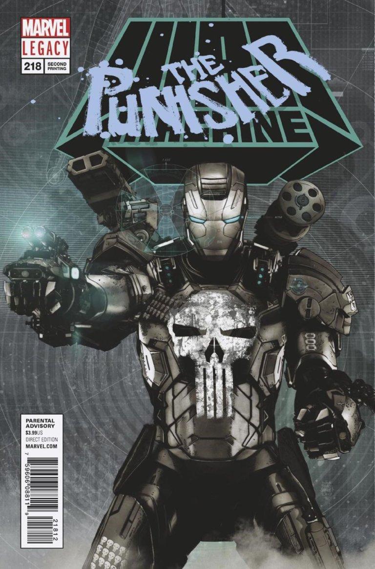 Punisher Vol 1 #218 g
