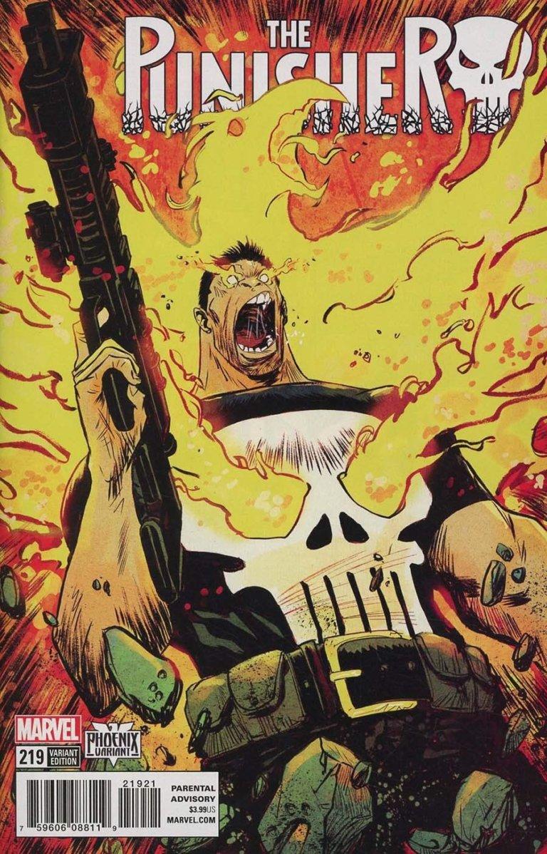 Punisher Vol 1 #219 b