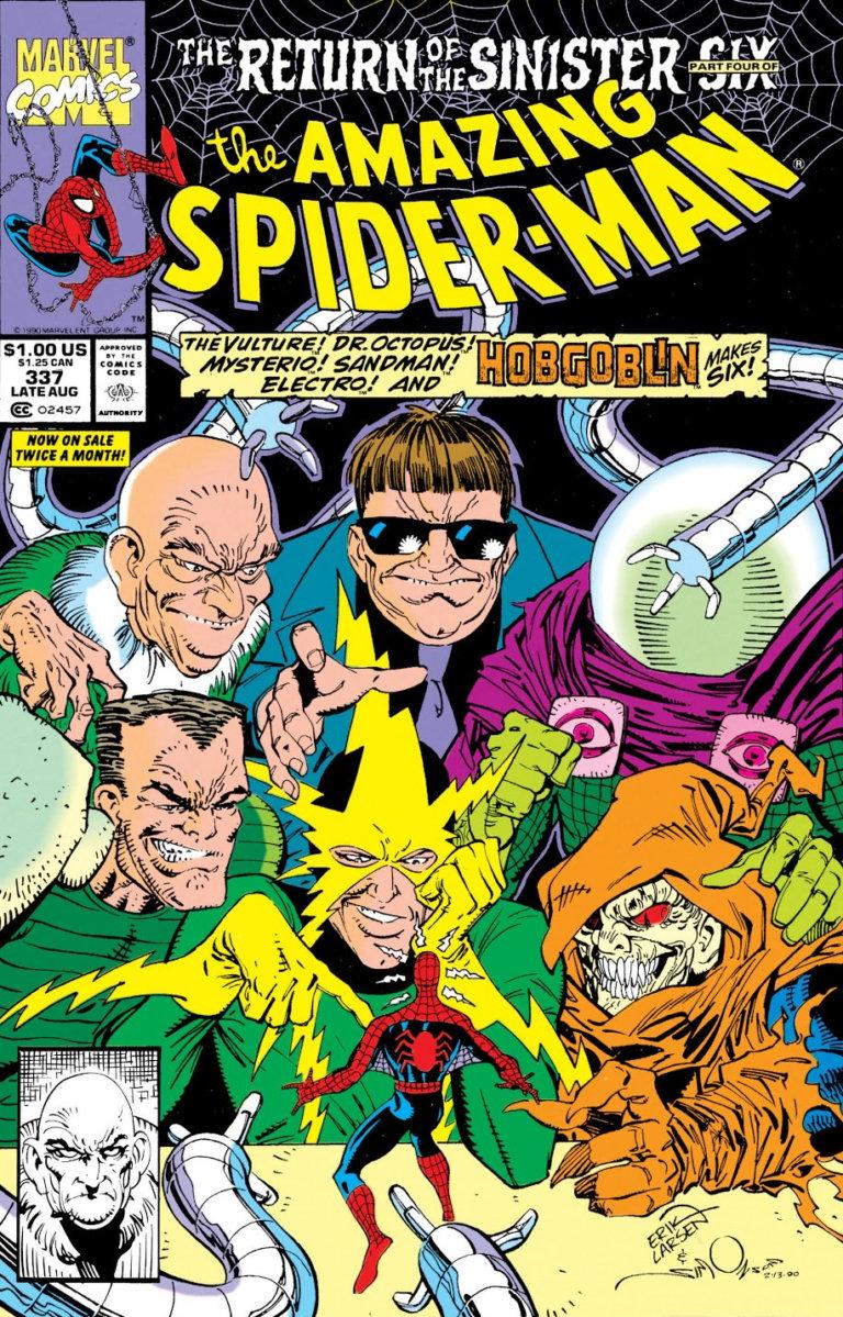 Amazing Spider-Man Vol 1 #337