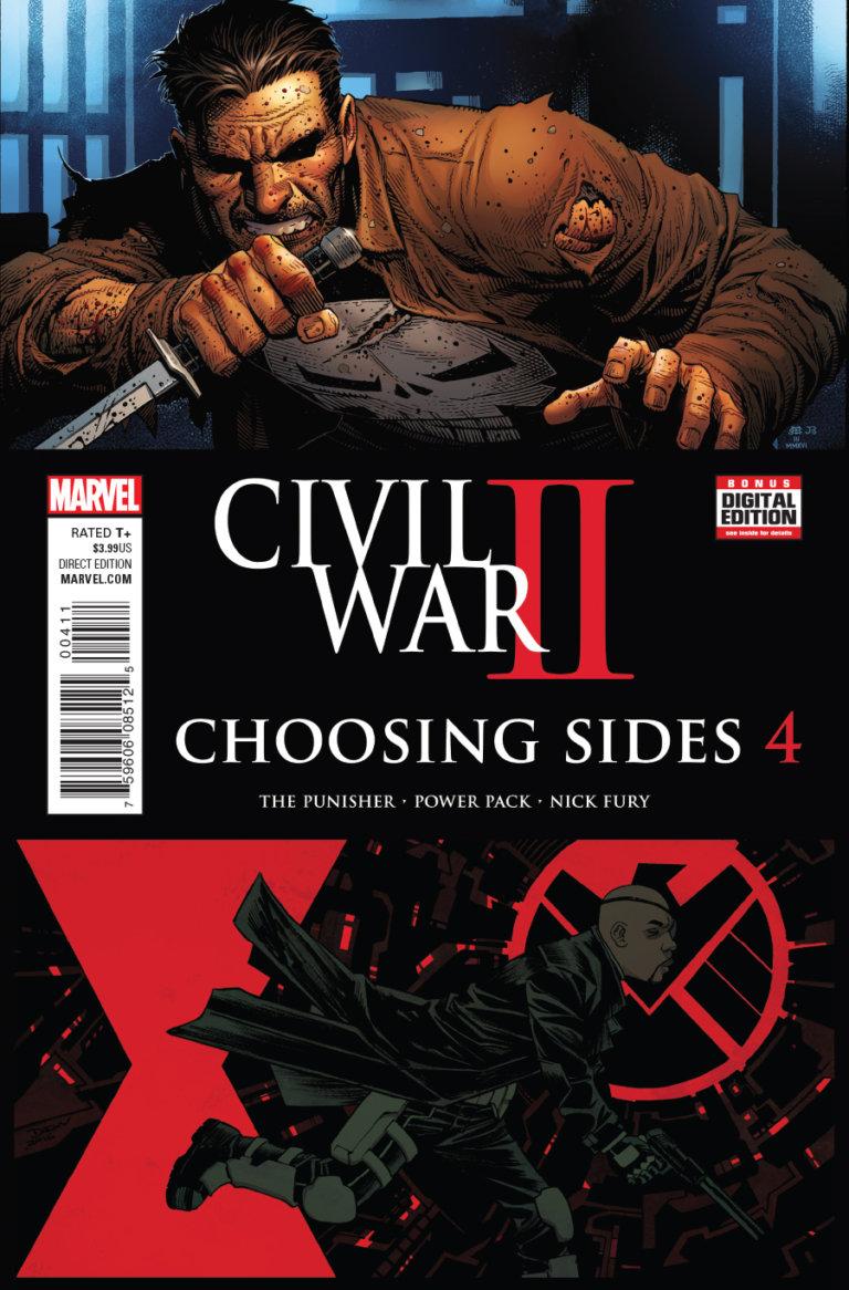 Civil War II: Choosing Sides Vol 1 #4