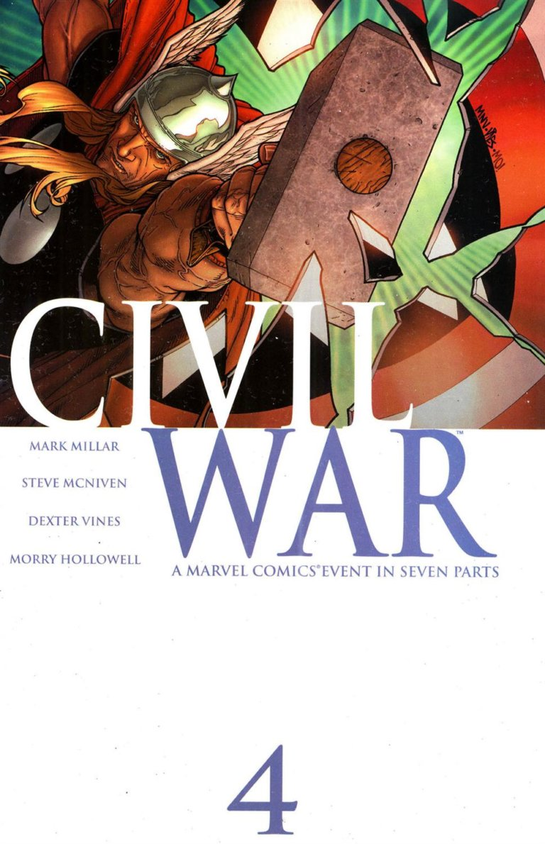 Civil War Vol 1 #4