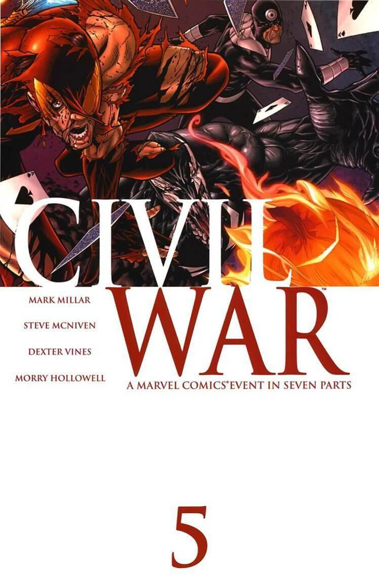 Civil War Vol 1 #5