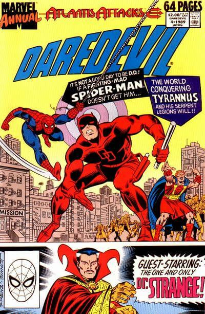 Daredevil Annual Vol 1 #4B