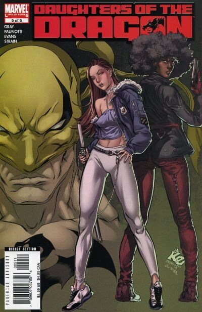 Daughters of the Dragon Vol 1 #5