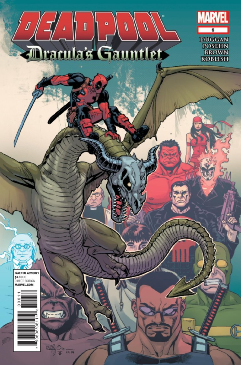 Deadpool: Dracula's Gauntlet #6