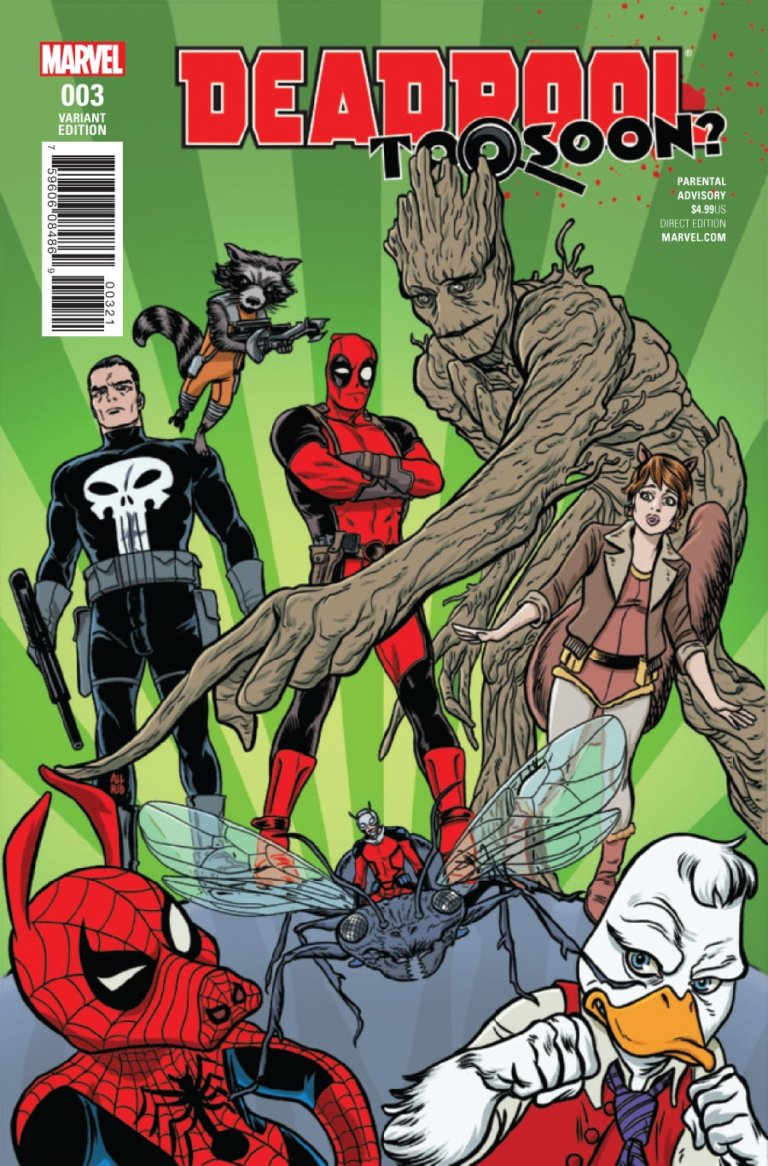 Deadpool: Too Soon #3 b