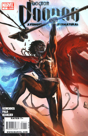Doctor Voodoo: Avenger of the Supernatural Vol 1 #1