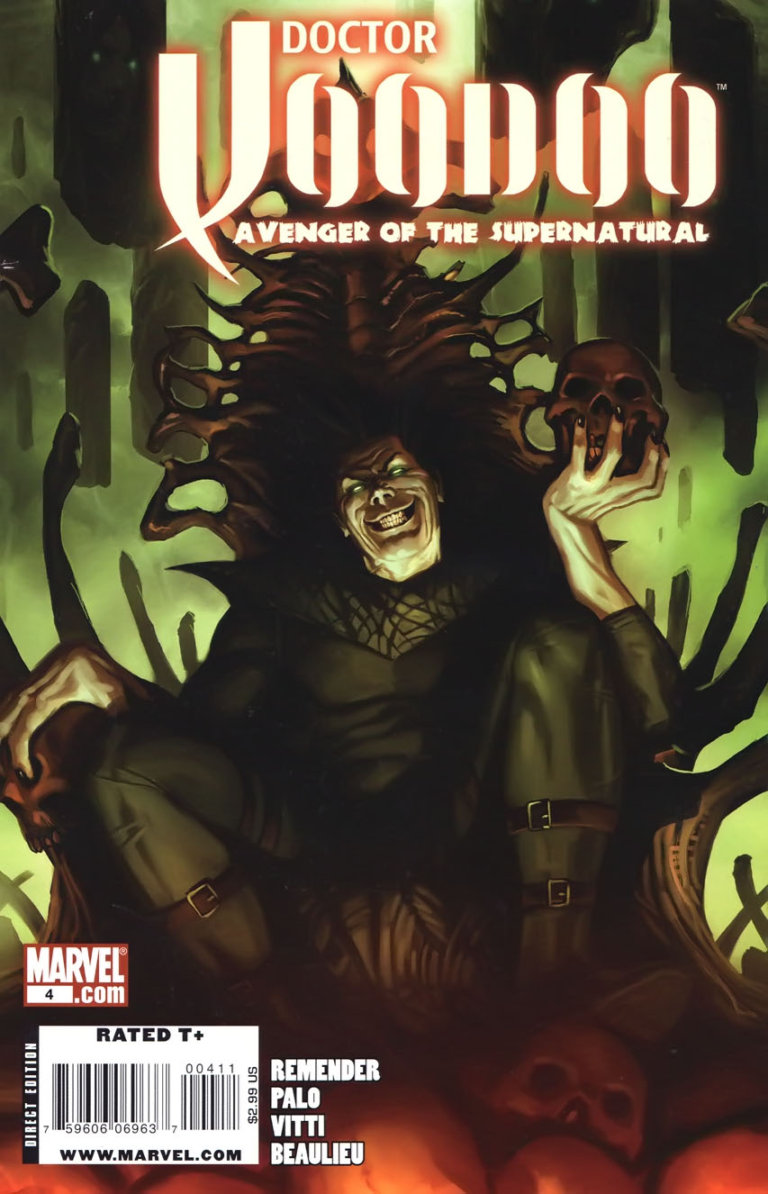 Doctor Voodoo Avenger of the Supernatural Vol 1 #4