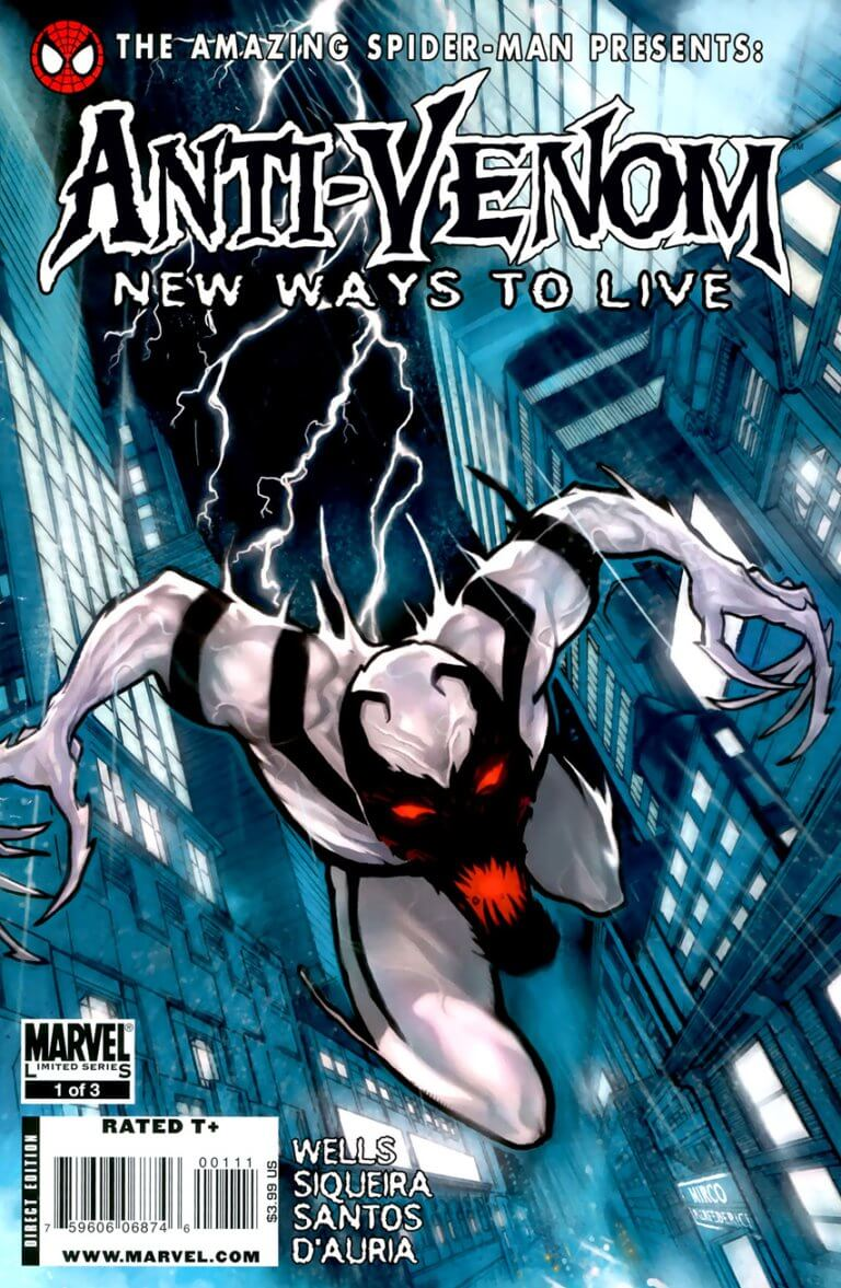 Anti-Venom: New Ways to Live Vol 1 #1