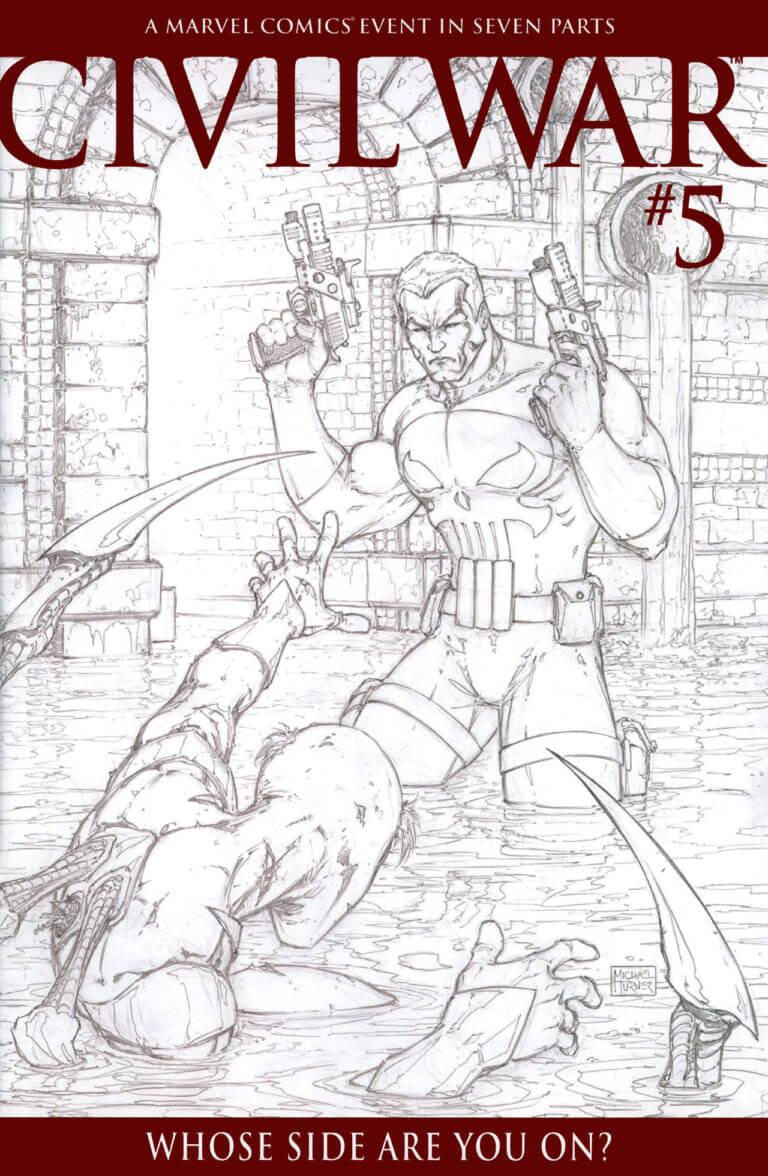 Civil War Vol 1 #5 c