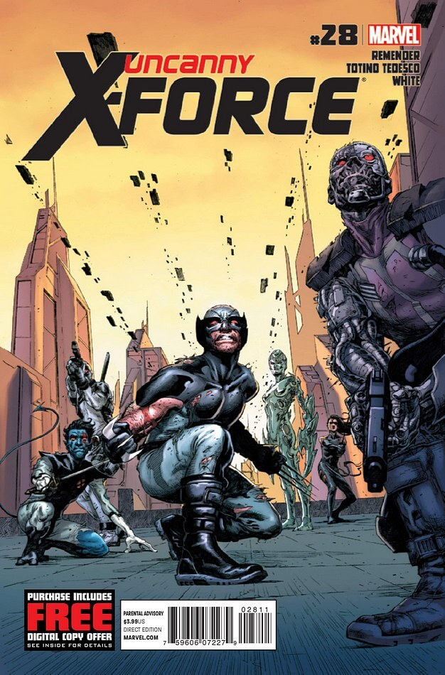Uncanny X-Force Vol 1 #29