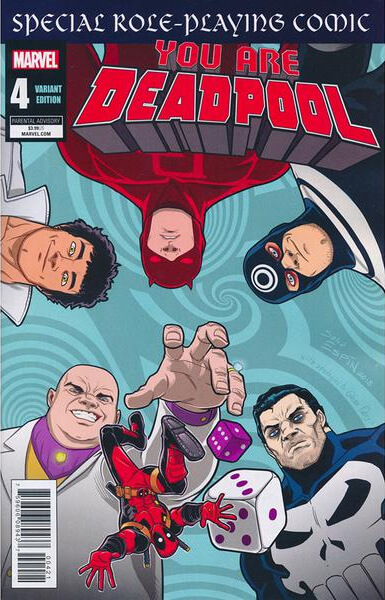 You Are Deadpool Vol 1 #4