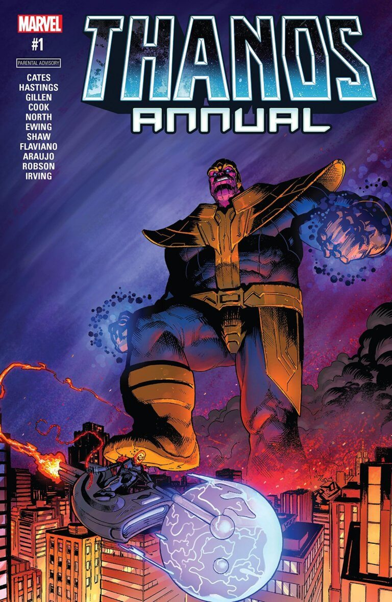 Thanos Vol 2 Annual #1