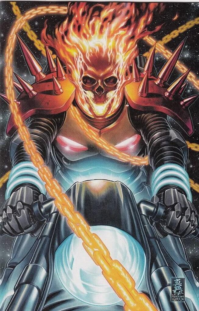 Cosmic Ghost Rider Vol 1 #1 f