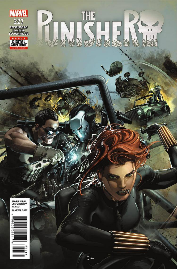 The Punisher Vol 1 #227