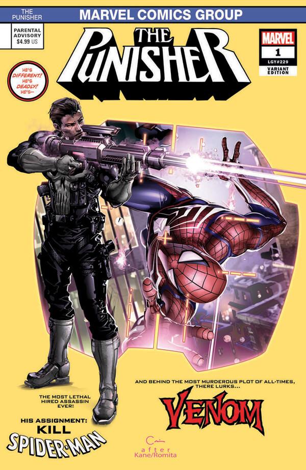 Punisher Vol 12 #1 k