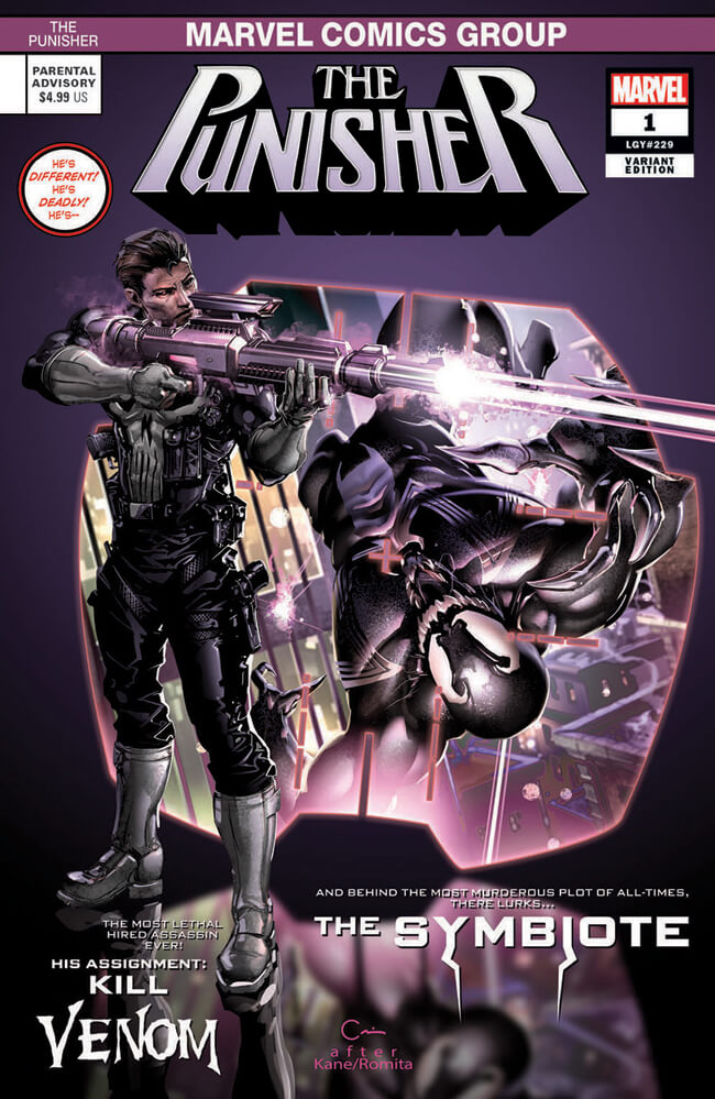 Punisher Vol 12 #1 l