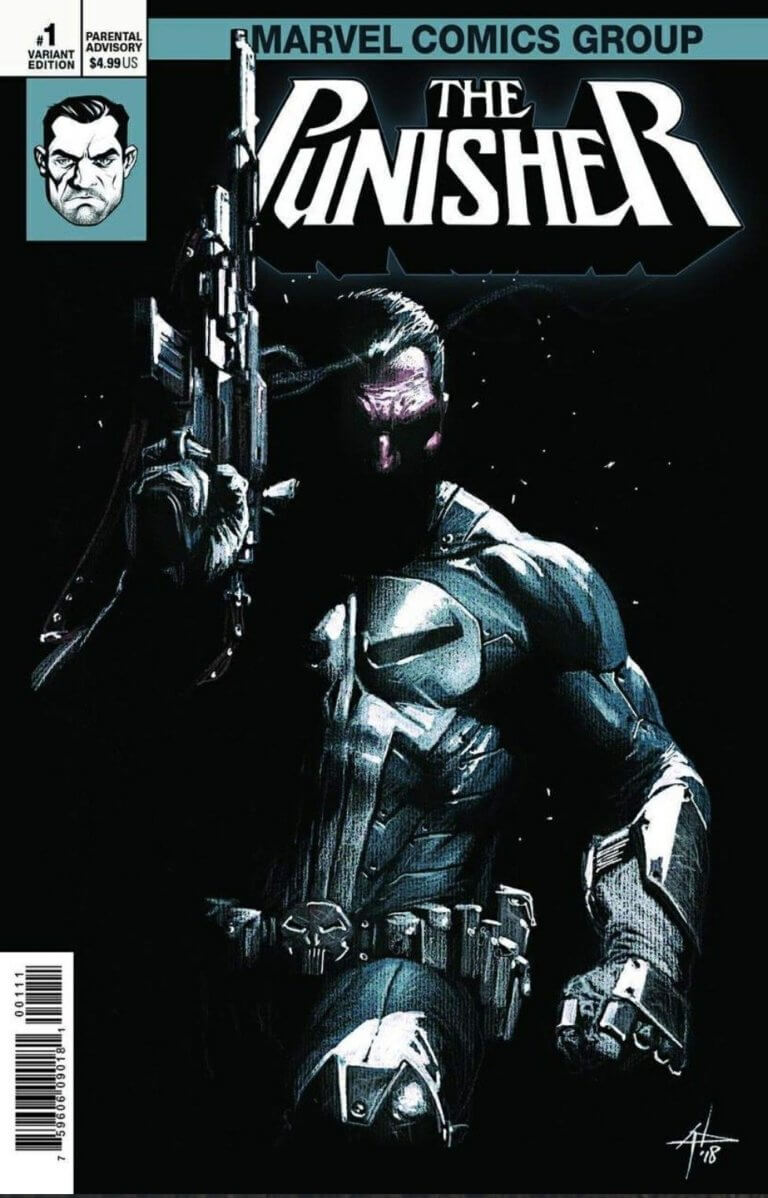 Punisher Vol 12 #1 h
