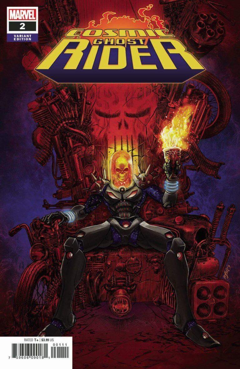 Cosmic Ghost Rider Vol 1 2 c
