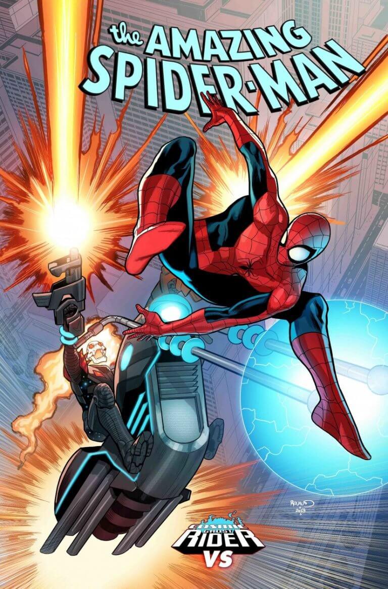 Amazing Spider-Man Vol 5 #6 CGR vs. Variant