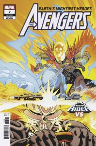 Avengers Vol 8 #7 CGR vs. Variant