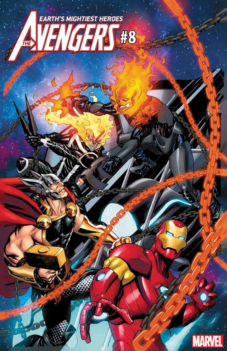 Avengers Vol 8 #8 CGR vs. Variant