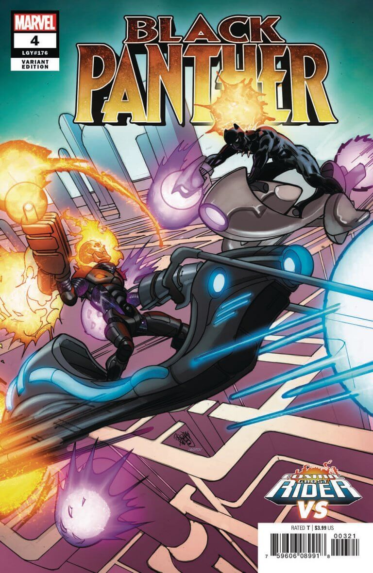 Black Panther Vol 7 #4 CGR vs. Variant