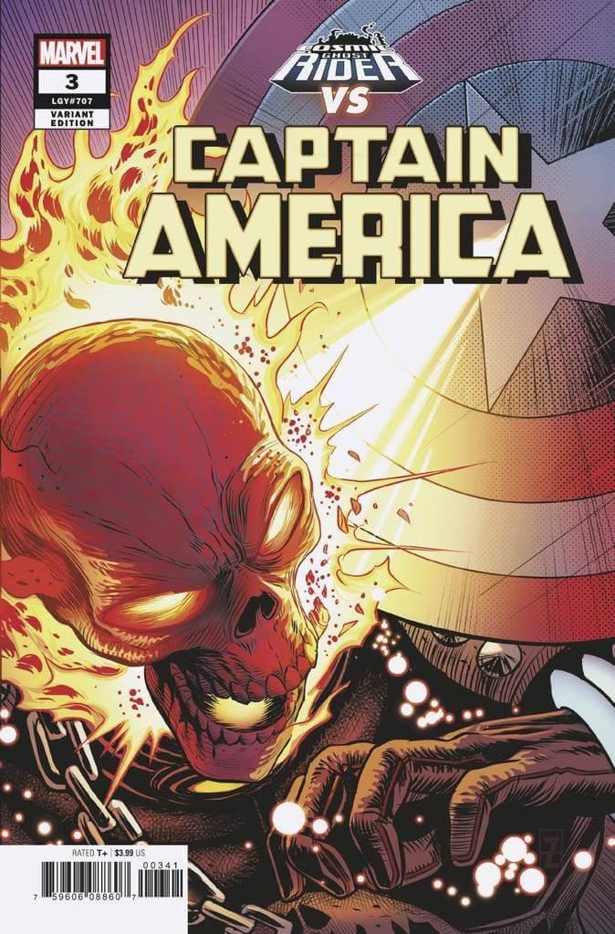 Captain America Vol 9 #3 CGR vs. Variant