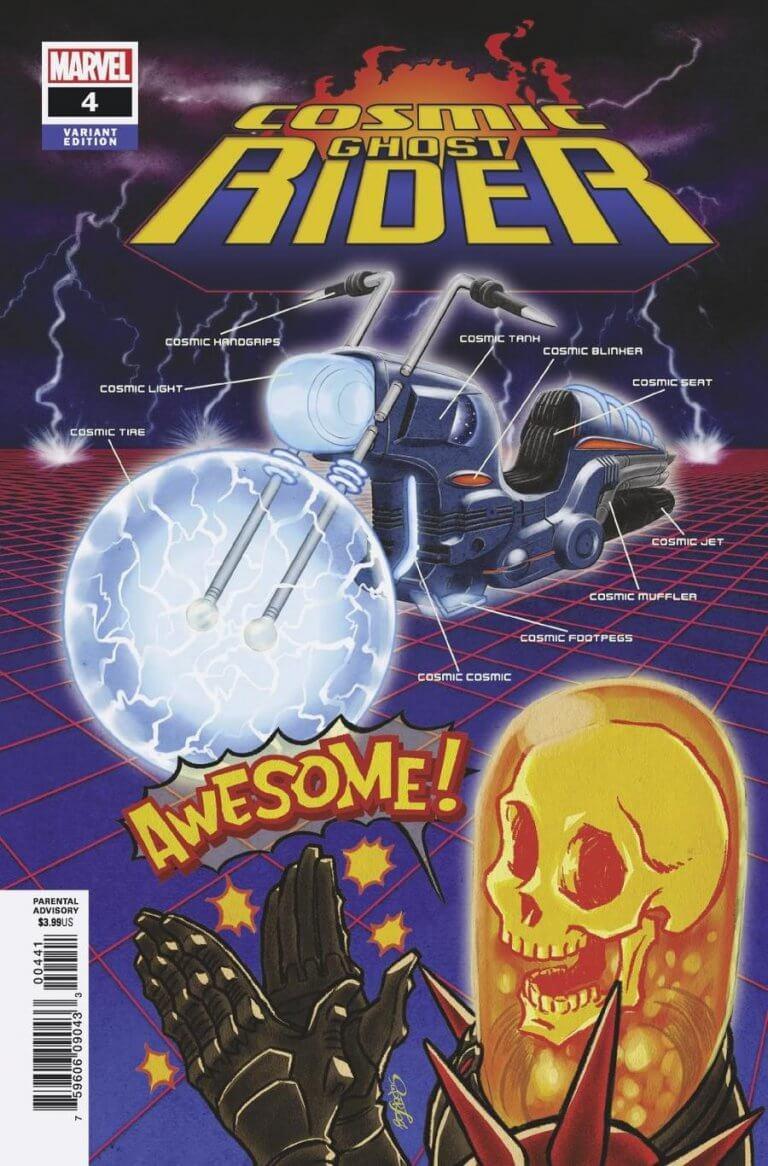Cosmic Ghost Rider Vol 1 #4 Superlog Variant