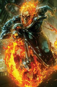 Cosmic Ghost Rider Vol 1 #4 Maxx Lim Battle Lines Variant