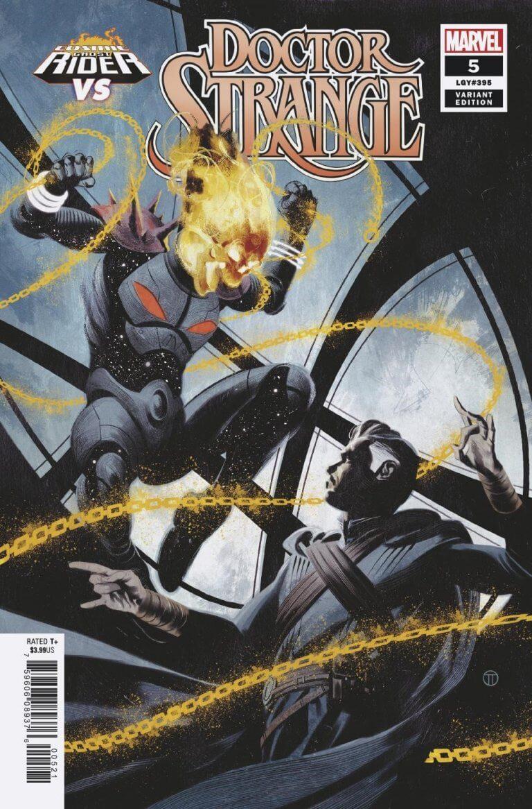 Doctor Strange Vol 5 #5 CGR vs. Variant