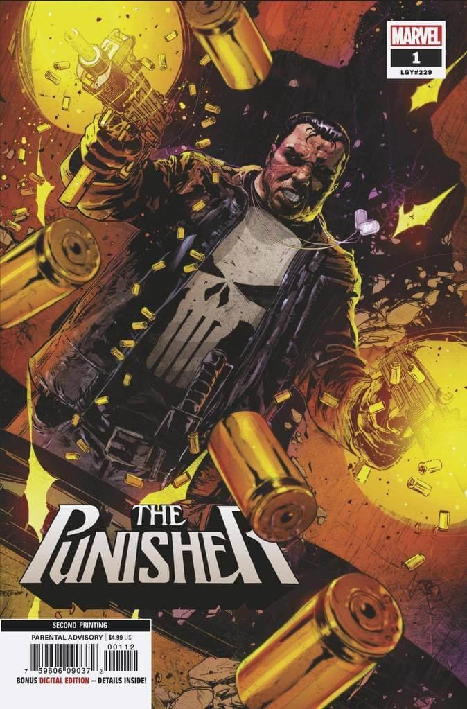 Punisher Vol 12 #1 2nd Print