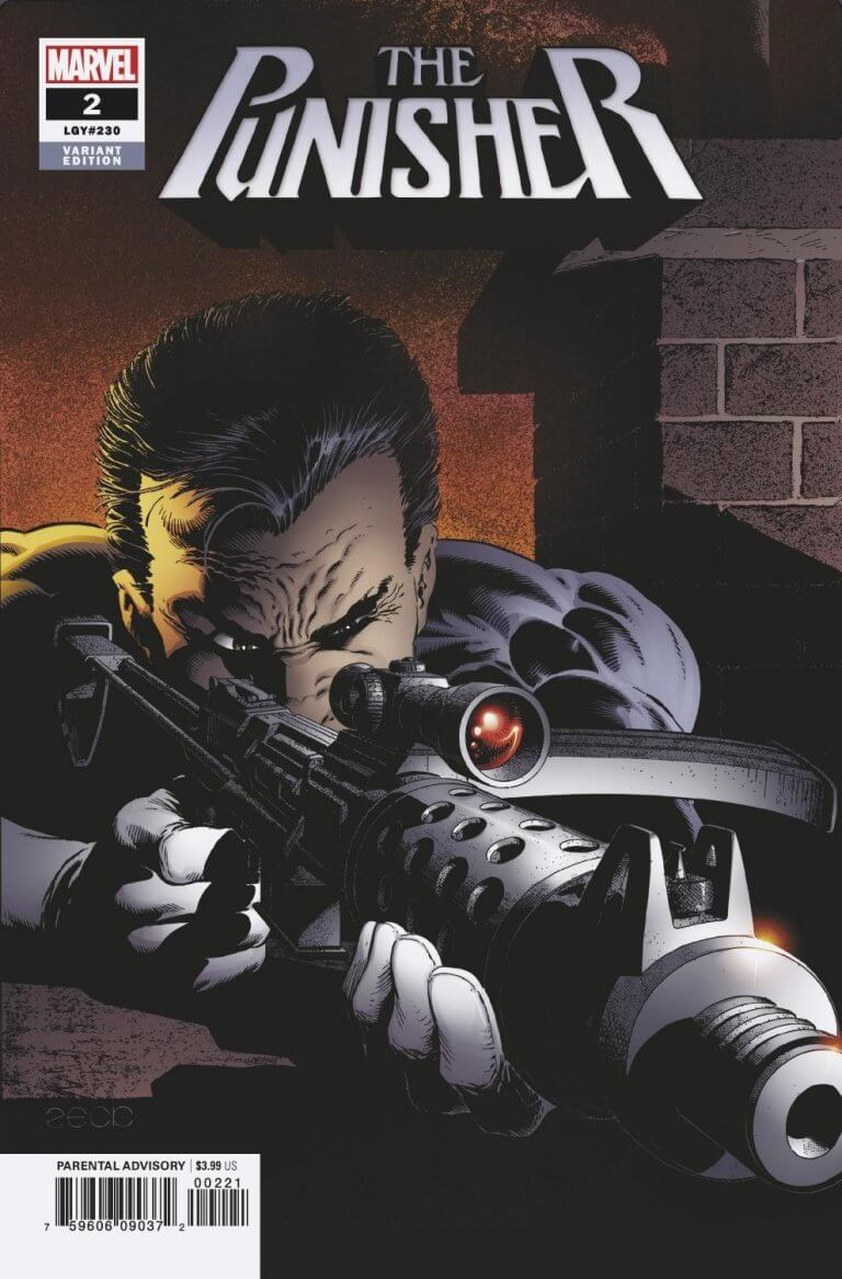 Punisher Vol 12 #2 Mike Zeck