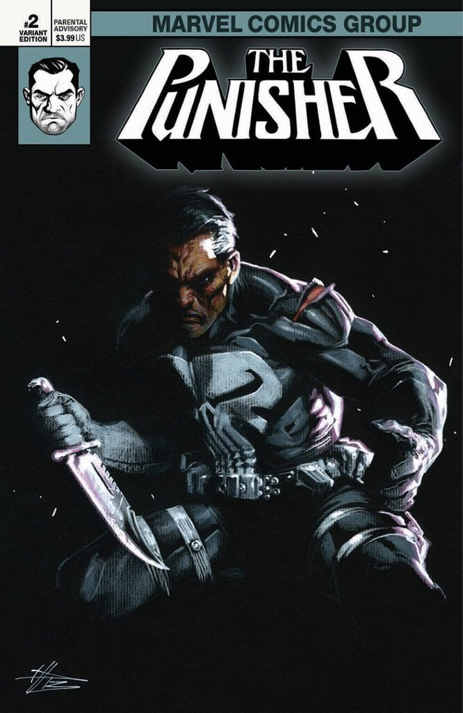 Punisher Vol 12 #2 Dell'Otto Variant