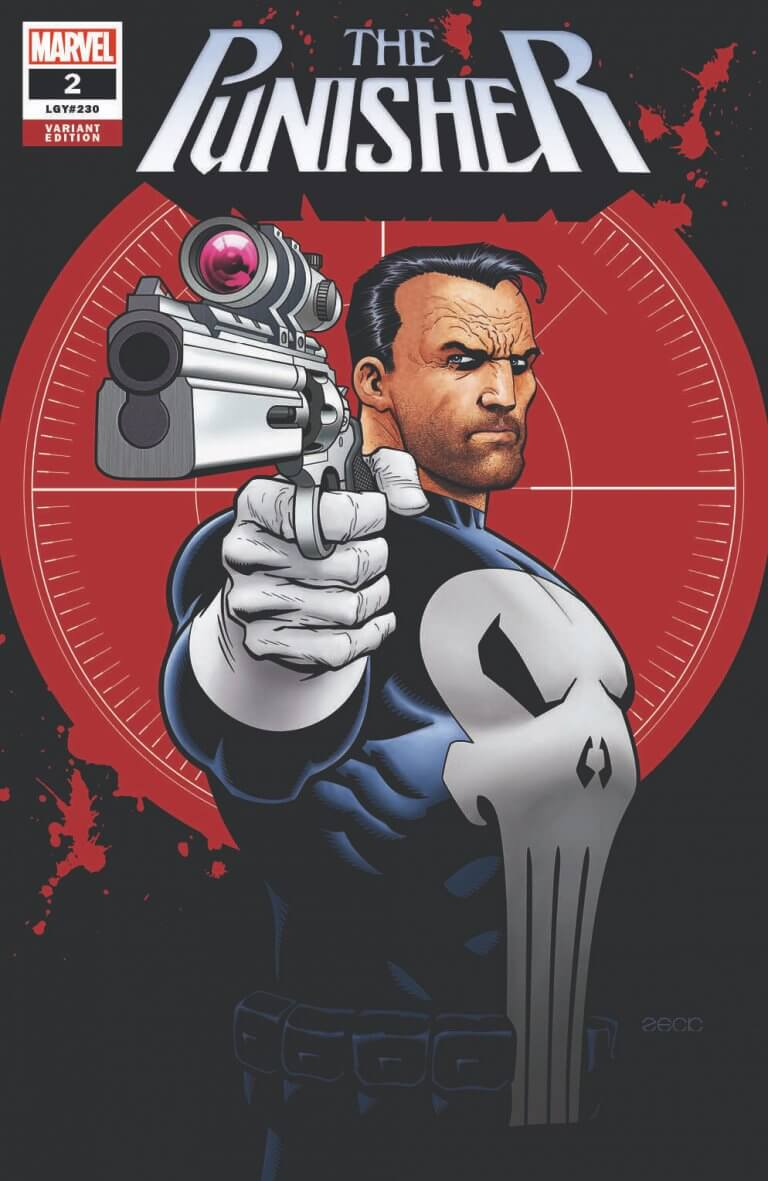 Punisher Vol 12 #2 Mike Zeck Exclusive